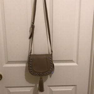 BCBG saddle bag
